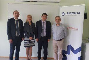 Визит сотрудников БГТУ в Эстонию