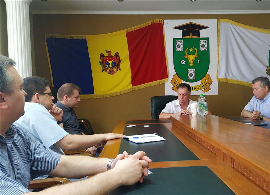 Визит в Молдавский государственный университет