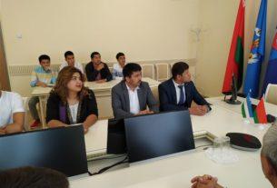 Сотрудничество с Ташкентским химико-технологическим институтом