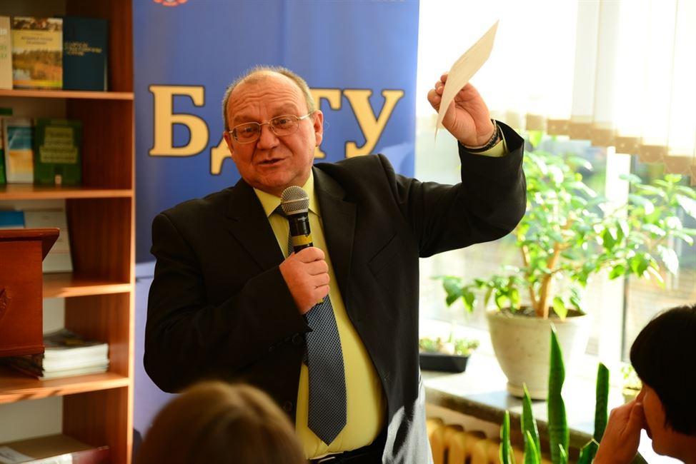 ІПКіП БДТУ запрашае на семінар Уладзіміра Куліковіча