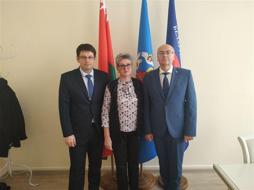 Визит представителей Молдавского государственного университета