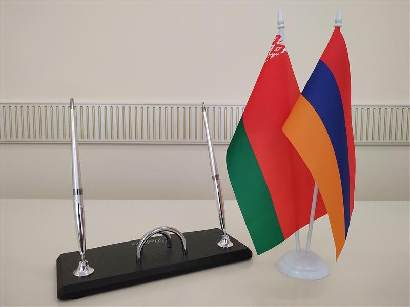 Визит работников БГТУ в университеты Еревана (Республика Армения)