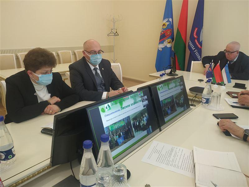 Развитие сотрудничества с учреждениями образования Республики Узбекистан