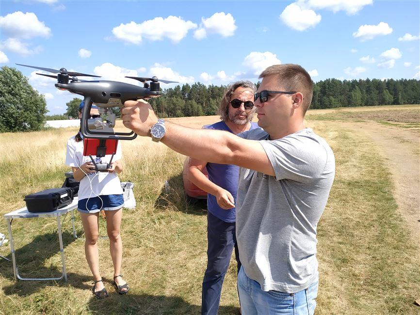 Обучение операторов дронов проходит в БГТУ